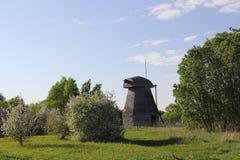 Zerstörte Mühle lizenzfreie stockfotografie