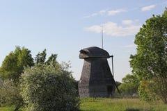Zerstörte Mühle lizenzfreies stockfoto