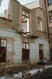 Zerstörte Strukturen Lizenzfreies Stockbild