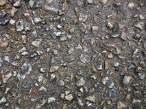 Zerstörter Asphalt Stockbild