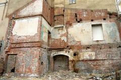 Zerstörtes Gebäude lizenzfreies stockfoto