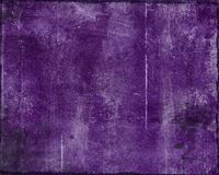 Zerstörtes purpurrotes grunge Lizenzfreies Stockfoto
