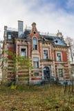 Zerstörtes, verlassenes Gebäude Lizenzfreies Stockbild