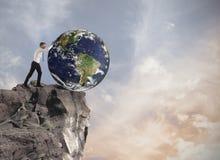 Zerstörung der Welt Stockfoto