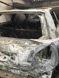Zerstörung des Feuers Lizenzfreies Stockfoto