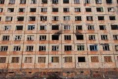 Zerstörung des Hauses Lizenzfreie Stockfotografie