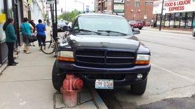 Zerstampfung zum Hydranten Lizenzfreie Stockfotografie