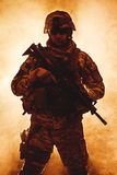 Zerstreute Infanterie lizenzfreies stockbild