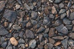 Zerstreute Steine Stockfotos