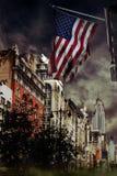 Zerstörte Stadt Stockfoto