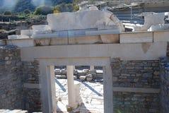 Zerteilen Sie auf der Stelle von Ephesus, Izmir, die Türkei, Mittlere Osten lizenzfreies stockbild