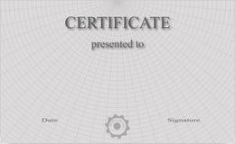 Zertifikat Stockbilder