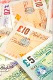 Zertrümmert Geld Lizenzfreie Stockbilder