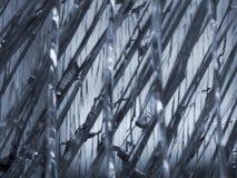 Zertrümmertes Glas Stockbild
