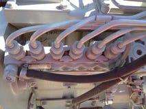 Zes cilinders Royalty-vrije Stock Afbeeldingen
