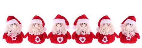 Zes Clausules van de Kerstman Royalty-vrije Stock Afbeelding