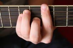 Zes-koord gitaar Stock Foto's