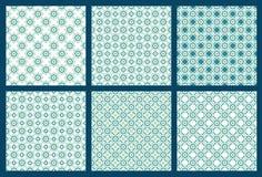 Zes Symmetrisch Patroon 2 stock illustratie