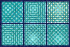Zes Symmetrisch Patroon 4 royalty-vrije illustratie