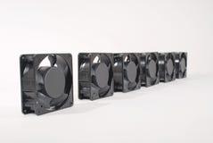 Zes ventilators Royalty-vrije Stock Foto