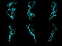 De patronen van de rook Stock Afbeeldingen