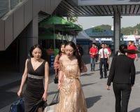 Zesde de Lente` Internationale Auto van ` Mianyang toont geopend Royalty-vrije Stock Foto's