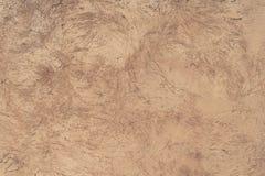 Zeskrobany tekstura beżu beton Zdjęcia Stock