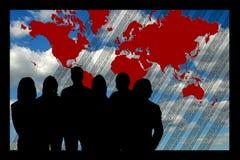 zespół świata biznesu ilustracja wektor