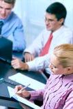 zespół działań biura działalności gospodarczej Obrazy Stock