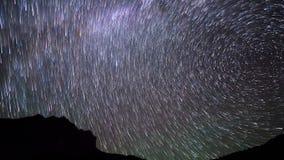 Zespół gwiazdy Czasu upływ 4K zdjęcie wideo