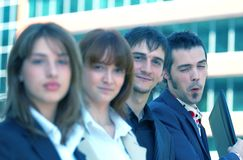 zespół przedsiębiorstw young Fotografia Stock