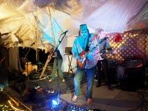 Zespół rockowy Roxotica bawić się przy Optimysstique 2017 Campout Fotografia Royalty Free
