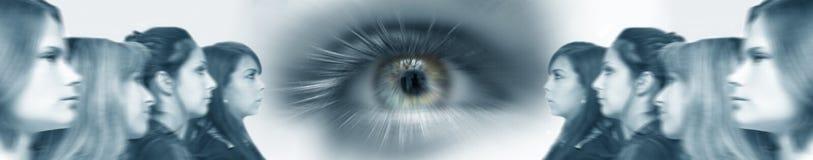 zespół wizję przyszłości biznes Fotografia Stock