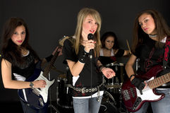 zespół dziewczyny Fotografia Stock