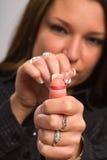 zespół kobieta gumowa Zdjęcie Stock