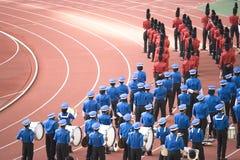 zespół marszu Zdjęcia Stock