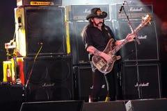 zespołu ciężkiego metalu motorhead skały scena Zdjęcie Stock