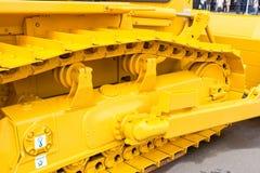 zespołu gąsienicowy metall kolor żółty Obraz Stock