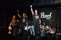 zespołu Germany kierowy sterany metal wykonuje zdjęcia royalty free