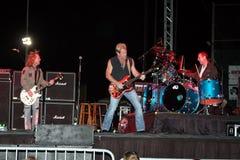 zespołu koncertowy noc leśniczy zdjęcie stock