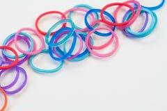 zespoły gumkę kolorową Fotografia Stock