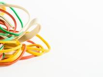 zespoły gumkę kolorową Zdjęcia Stock