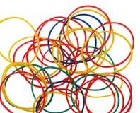 zespoły kolor elastyczne obraz stock