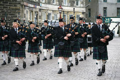 zespołu brytyjskiej legii drymby królewski Scotland wick Zdjęcia Stock