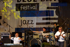 zespołu jazz Fotografia Stock