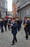Zespołu marsz w Bruges Obraz Stock