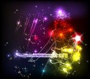 zespołu neon skała Fotografia Royalty Free