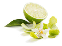 Zest of lime Stock Images