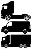 zestaw ciężarówką wektora Zdjęcie Royalty Free