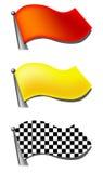 zestaw flagę royalty ilustracja